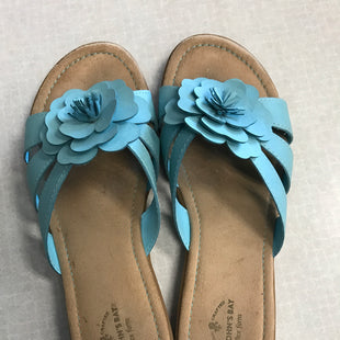 Primary Photo - BRAND: ST JOHNS BAY STYLE: SANDALS FLAT COLOR: BLUE SIZE: 8 SKU: 313-31352-1088