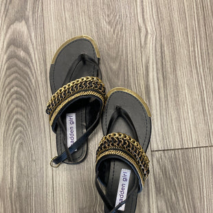 Primary Photo - BRAND: MADDEN GIRL STYLE: SANDALS FLAT COLOR: BLACK SIZE: 5.5 SKU: 313-31332-10798