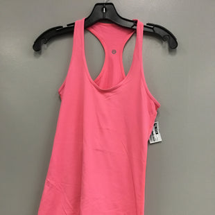 Primary Photo - BRAND: LULULEMON STYLE: ATHLETIC TANK TOP COLOR: PINK SIZE: S SKU: 313-31344-23502