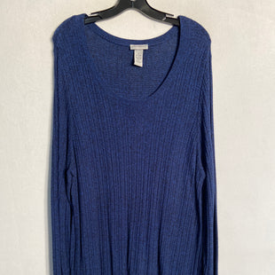 Primary Photo - BRAND: CATHERINES STYLE: SWEATER LIGHTWEIGHT COLOR: BLUE SIZE: 1X SKU: 313-31344-9360