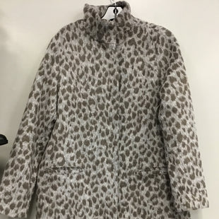 Primary Photo - BRAND: OLD NAVY STYLE: COAT LONG COLOR: ANIMAL PRINT SIZE: M SKU: 313-31344-17245