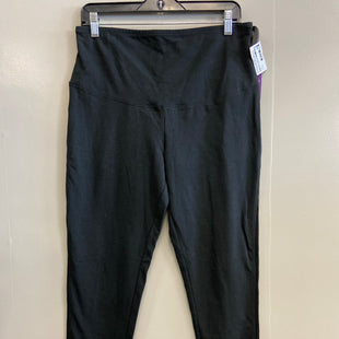 Primary Photo - BRAND:    CLOTHES MENTOR STYLE: ATHLETIC PANTS COLOR: BLACK SIZE: XL OTHER INFO: YUMMIE - SKU: 313-31332-10129