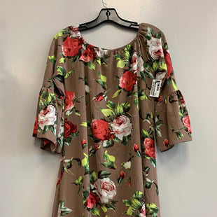 Primary Photo - BRAND:    CLOTHES MENTOR STYLE: DRESS SHORT LONG SLEEVE COLOR: FLORAL SIZE: S OTHER INFO: HIGHNESS - SKU: 313-31344-19256