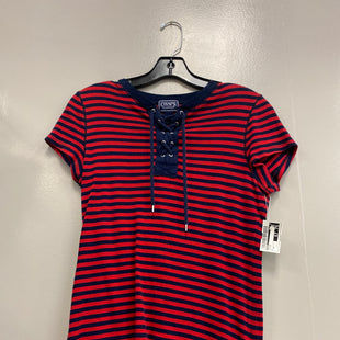 Primary Photo - BRAND: CHAPS STYLE: TOP SHORT SLEEVE COLOR: STRIPED SIZE: M SKU: 313-31349-425