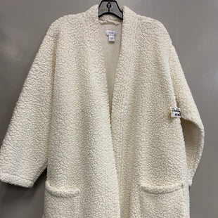 Primary Photo - BRAND: OLD NAVY STYLE: SWEATER CARDIGAN LIGHTWEIGHT COLOR: CREAM SIZE: 2X SKU: 313-31311-30449