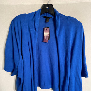 Primary Photo - BRAND: LANE BRYANT STYLE: SWEATER LIGHTWEIGHT COLOR: ROYAL BLUE SIZE: 3X SKU: 313-31328-29918