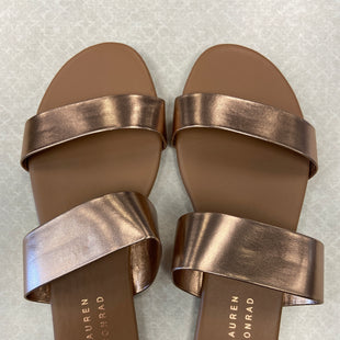 Primary Photo - BRAND: LAUREN CONRAD STYLE: SANDALS FLAT COLOR: ROSE SIZE: 6 SKU: 313-31354-876