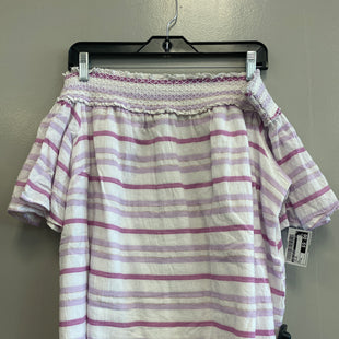 Primary Photo - BRAND: LANE BRYANT STYLE: TOP SHORT SLEEVE COLOR: STRIPED SIZE: XL SKU: 313-31332-9691