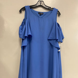 Primary Photo - BRAND:    CLOTHES MENTOR STYLE: DRESS SHORT SHORT SLEEVE COLOR: PERIWINKLE SIZE: L OTHER INFO: LOVE REIGN - SKU: 313-31311-30667