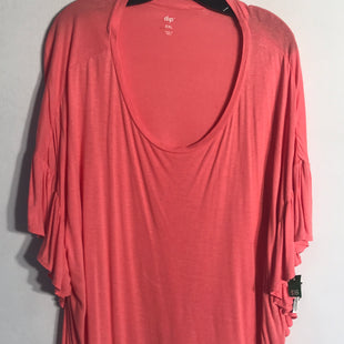 Primary Photo - BRAND: DIP STYLE: TOP SHORT SLEEVE BASIC COLOR: CORAL SIZE: XXL SKU: 313-31344-8399
