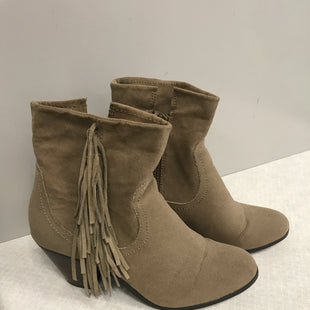Primary Photo - BRAND: APT 9 STYLE: BOOTS ANKLE COLOR: BROWN SIZE: 7 SKU: 313-31318-11477