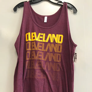 Primary Photo - BRAND:    CLOTHES MENTOR STYLE: ATHLETIC TANK TOP COLOR: MAROON SIZE: L SKU: 313-31344-22531
