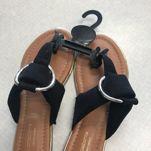 Primary Photo - BRAND: LIZ CLAIBORNE STYLE: SANDALS FLAT COLOR: BLACK SIZE: 6 SKU: 313-31349-2496