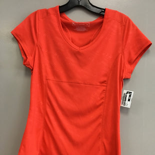 Primary Photo - BRAND: TEK GEAR STYLE: ATHLETIC TOP SHORT SLEEVE COLOR: ORANGE SIZE: M SKU: 313-31349-1344