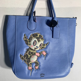 Primary Photo - BRAND: COACHSTYLE: HANDBAG DESIGNERCOLOR: BLUESIZE: LARGESKU: 313-31328-32114
