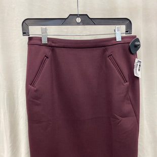 Primary Photo - BRAND: ANN TAYLOR LOFT STYLE: SKIRT COLOR: MAROON SIZE: 2 SKU: 313-31332-6617