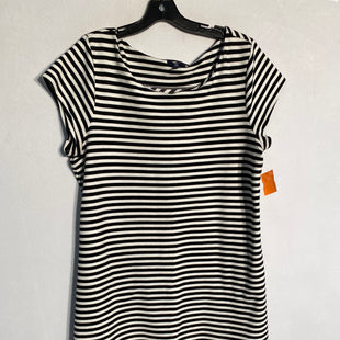 Primary Photo - BRAND: GAP STYLE: DRESS SHORT SHORT SLEEVE COLOR: BLACK WHITE SIZE: 2X SKU: 313-31349-3322