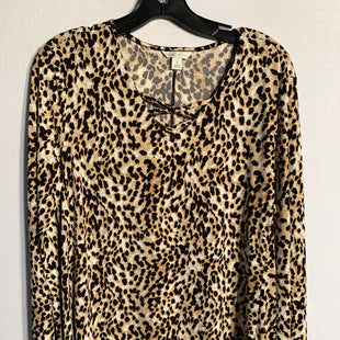 Primary Photo - BRAND: CATOSTYLE: TOP LONG SLEEVECOLOR: ANIMAL PRINTSIZE: SSKU: 313-31344-7496