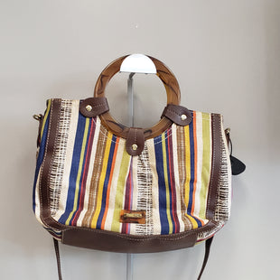 Primary Photo - BRAND: RELIC STYLE: HANDBAG COLOR: STRIPED SIZE: MEDIUM SKU: 313-31311-27334