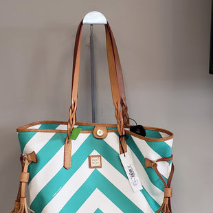 Primary Photo - BRAND: DOONEY AND BOURKE STYLE: HANDBAG DESIGNER COLOR: CHEVRON SIZE: LARGE SKU: 313-31332-7171