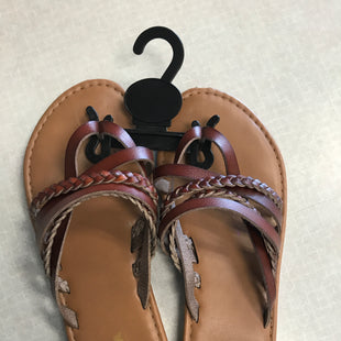 Primary Photo - BRAND: SONOMA STYLE: SANDALS FLAT COLOR: BROWN SIZE: 7 SKU: 313-31349-4471