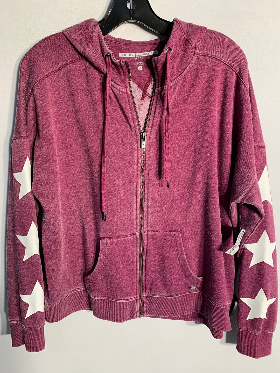 Primary Photo - BRAND: TOMMY HILFIGER<BR>STYLE: ATHLETIC JACKET<BR>COLOR: PURPLE<BR>SIZE: XL<BR>SKU: 313-31328-29426
