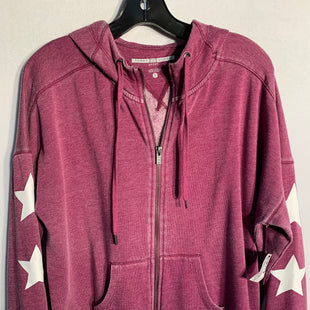 Primary Photo - BRAND: TOMMY HILFIGERSTYLE: ATHLETIC JACKETCOLOR: PURPLESIZE: XLSKU: 313-31328-29426