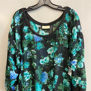Primary Photo - BRAND: BOBBIE BROOKS STYLE: TOP SHORT SLEEVE COLOR: FLORAL SIZE: 3X SKU: 313-31328-37197