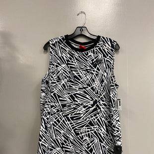 Primary Photo - BRAND: NIKE STYLE: ATHLETIC TANK TOP COLOR: BLACK WHITE SIZE: L SKU: 313-31349-3242