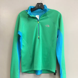 Primary Photo - BRAND: NORTHFACE STYLE: ATHLETIC TOP COLOR: BLUE GREEN SIZE: M SKU: 313-31328-36881