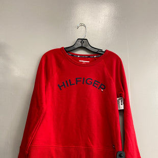 Primary Photo - BRAND: TOMMY HILFIGER STYLE: ATHLETIC TOP COLOR: RED BLUE SIZE: M SKU: 313-31344-19449