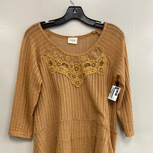 Primary Photo - BRAND: HIP STYLE: TOP LONG SLEEVE COLOR: MUSTARD SIZE: M SKU: 313-31344-14282