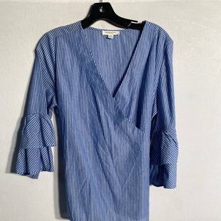 Primary Photo - BRAND: BEACHLUNCHLOUNGESTYLE: TOP LONG SLEEVECOLOR: BLUE WHITESIZE: SSKU: 313-31311-24241