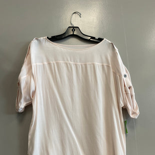 Primary Photo - BRAND: ANN TAYLOR LOFT STYLE: TOP SHORT SLEEVE COLOR: LIGHT PINK SIZE: S SKU: 313-31328-15619
