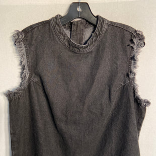 Primary Photo - BRAND: GAP STYLE: TOP SLEEVELESS COLOR: GREY SIZE: L SKU: 313-31328-29927