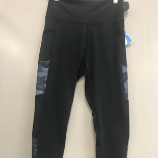Primary Photo - BRAND:    CLOTHES MENTOR STYLE: ATHLETIC PANTS COLOR: BLACK SIZE: S OTHER INFO: CM - BLUE CAMO SKU: 313-31349-2456