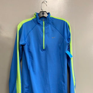 Primary Photo - BRAND: NIKE STYLE: ATHLETIC JACKET COLOR: BLUE SIZE: M SKU: 313-31332-9474