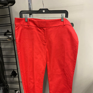 Primary Photo - BRAND: ANN TAYLOR LOFT STYLE: PANTS COLOR: RED SIZE: 12 SKU: 313-31344-18216