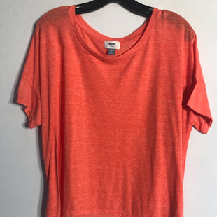 Primary Photo - BRAND: OLD NAVY STYLE: TOP SHORT SLEEVE BASIC COLOR: CORAL SIZE: M SKU: 313-31328-30168