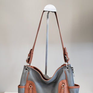 Primary Photo - BRAND: ALFRED DUNNER STYLE: HANDBAG COLOR: GREY SIZE: MEDIUM SKU: 313-31344-8387