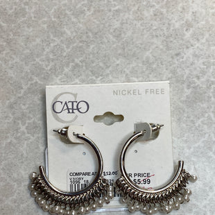 Primary Photo - BRAND: CATOSTYLE: EARRINGSCOLOR: SILVERSKU: 313-31344-8344