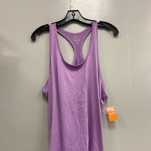 Primary Photo - BRAND: NIKE STYLE: ATHLETIC TANK TOP COLOR: PURPLE SIZE: XL SKU: 313-31349-3330