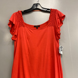 Primary Photo - BRAND: CUPIO STYLE: TOP SHORT SLEEVE COLOR: ORANGE SIZE: M SKU: 313-31328-33468