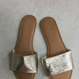 Primary Photo - BRAND: OLD NAVY STYLE: SANDALS FLAT COLOR: GOLD SIZE: 8.5 SKU: 313-31332-7845