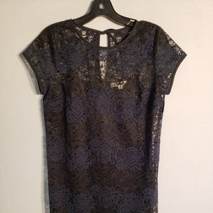 Primary Photo - BRAND: ANN TAYLOR LOFT STYLE: DRESS SHORT SHORT SLEEVE COLOR: NAVY SIZE: PETITE   SMALL SKU: 313-31344-9317