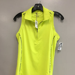 Primary Photo - BRAND:    CLOTHES MENTOR STYLE: ATHLETIC TANK TOP COLOR: YELLOW SIZE: S OTHER INFO: PETER MILLAR - SKU: 313-31332-8447