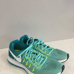 Primary Photo - BRAND: NIKE STYLE: SHOES ATHLETIC COLOR: TEAL SIZE: 10 SKU: 313-31349-2194