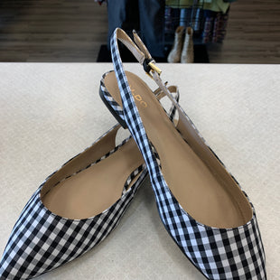 Primary Photo - BRAND: ALDO STYLE: SHOES FLATS COLOR: BLACK WHITE SIZE: 9 SKU: 313-31332-7857