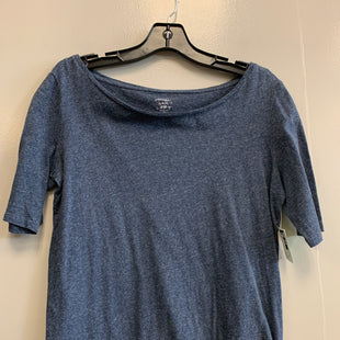 Primary Photo - BRAND: ANN TAYLOR LOFT STYLE: TOP SHORT SLEEVE COLOR: BLUE SIZE: M SKU: 313-31350-102