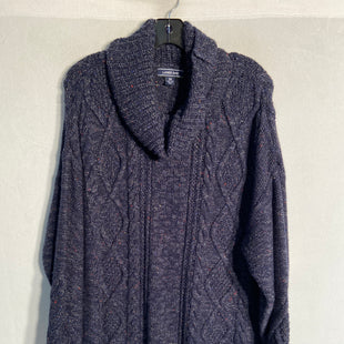 Primary Photo - BRAND: LANDS END STYLE: SWEATER LIGHTWEIGHT COLOR: NAVY SIZE: 2X SKU: 313-31344-10636
